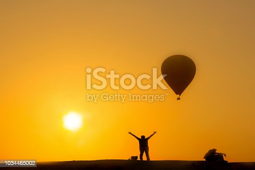 1035635902 istock photo Hot Air Balloons To Fly over Cappadocia 1034465002