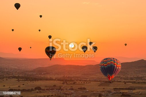 1035635902 istock photo Hot Air Balloons To Fly over Cappadocia 1049984710