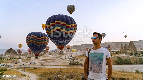 1035635902 istock photo Hot Air Balloons To Fly over Cappadocia 853964482