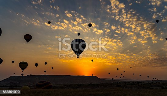1035635902 istock photo Hot Air Balloons To Fly over Cappadocia 855594920