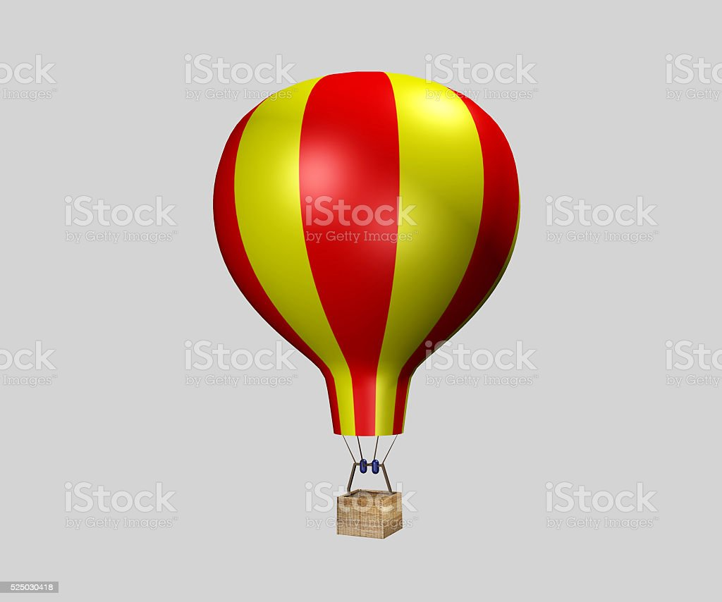 Hot Air Baloon stock photo