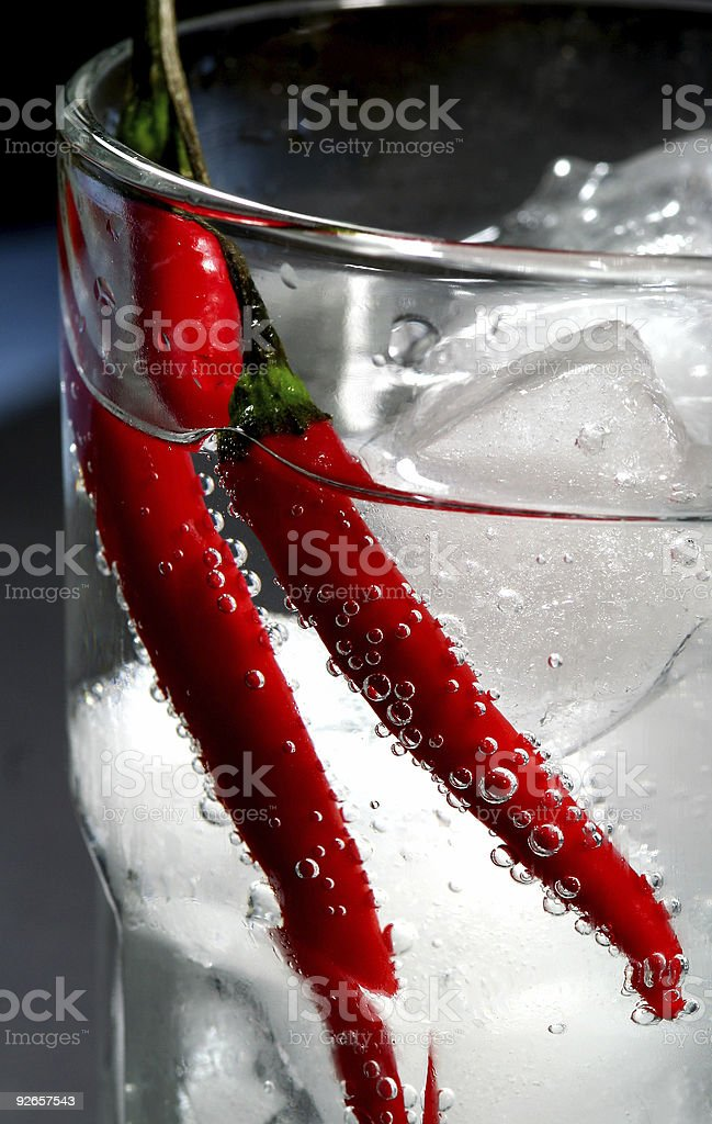 hot and cold drink royalty-free stock photo