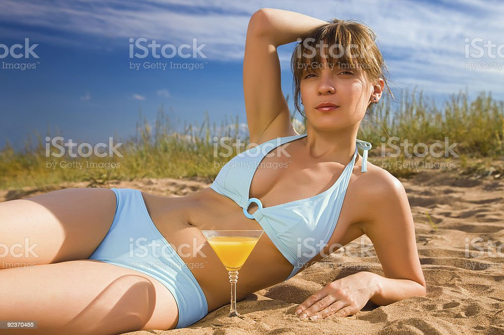 Hot and cool royalty-free stock photo