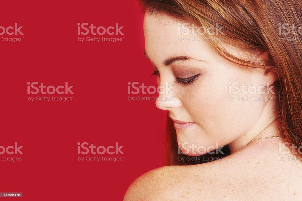 Hot and Demure stock photo