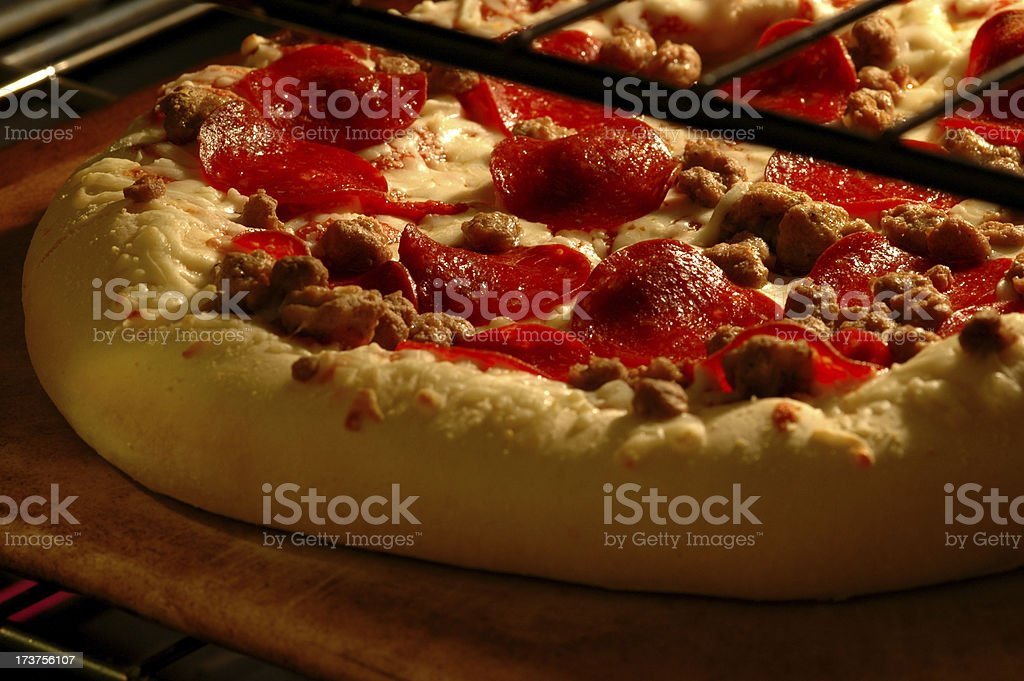 hot and in the oven 2 royalty-free stock photo