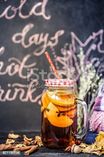 502634476 istock photo hot autumn drinks 821195296