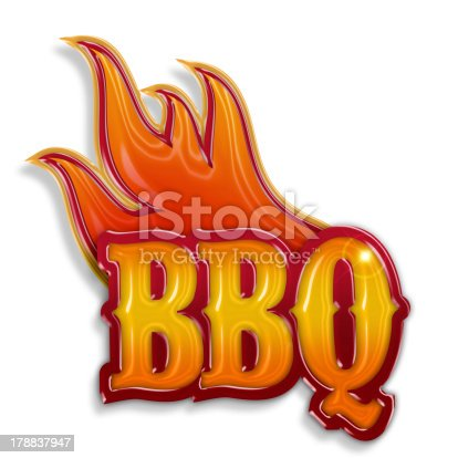 istock hot barbecue label 178837947