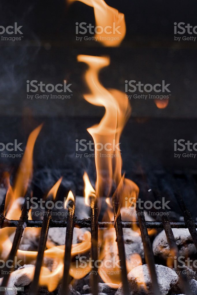 Hot Barbecue royalty-free stock photo