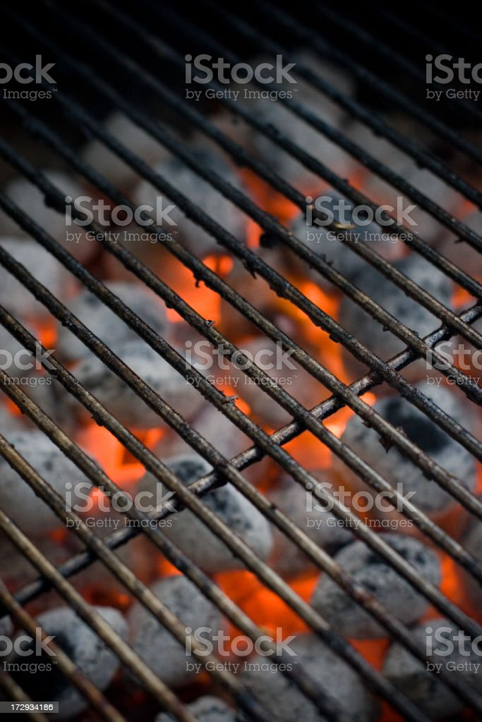 Hot BBQ Grill royalty-free stock photo