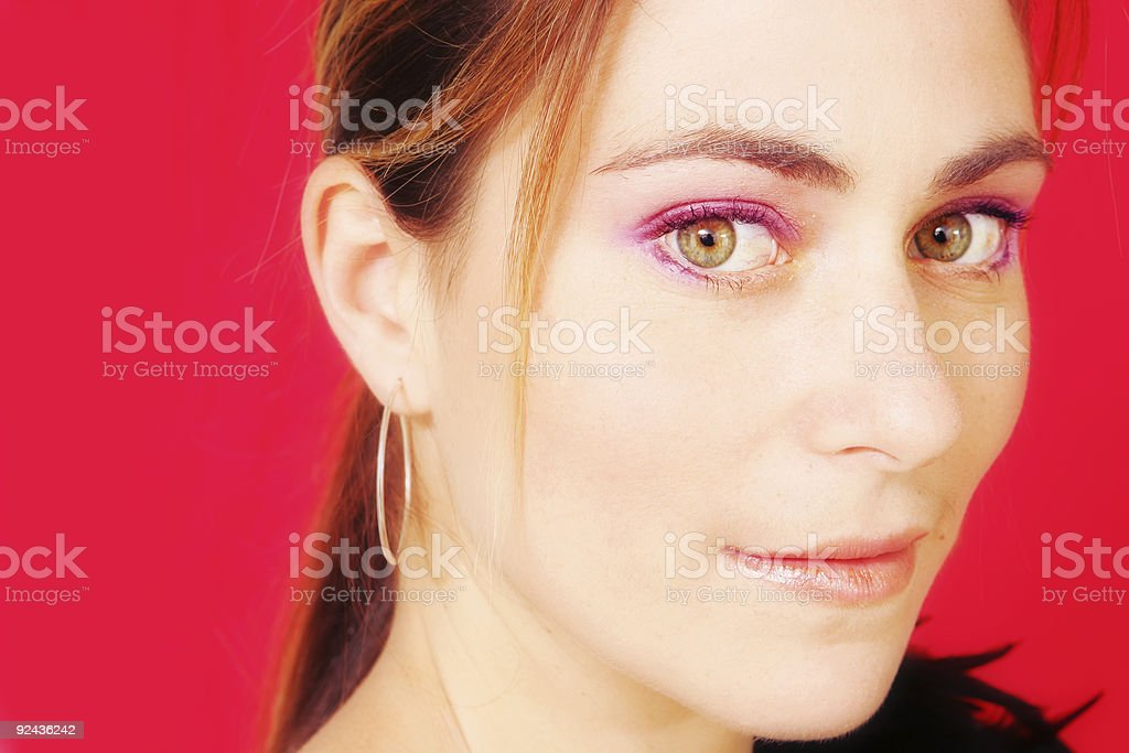 Hot Beauty royalty-free stock photo