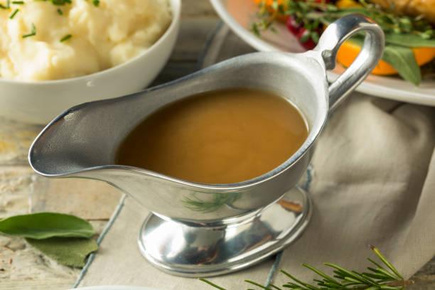 Sauce chaude Turquie organique brun - Photo