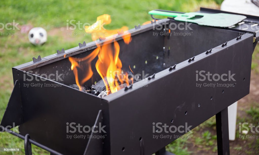 Le feu charbon - Photo