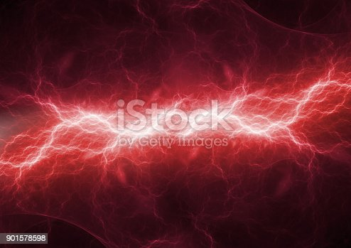 istock Hot burning fire lighning, plasma and energy electrical background 901578598