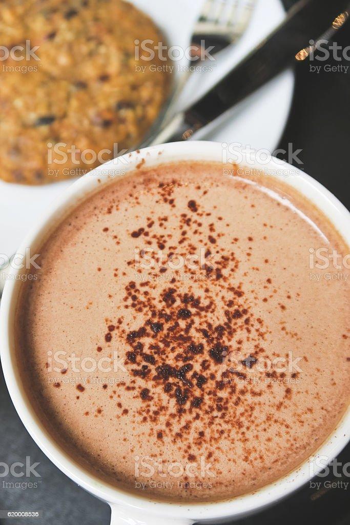 chocolate quente Bebida foto de stock royalty-free