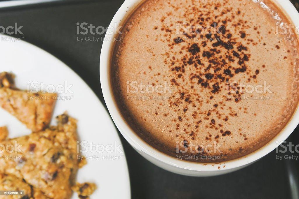 Gorący napój czekoladowy zbiór zdjęć royalty-free