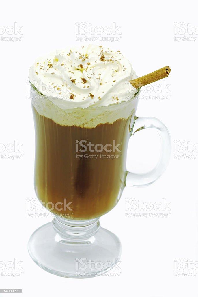Hot chocolate Isolated royalty-free stock photo