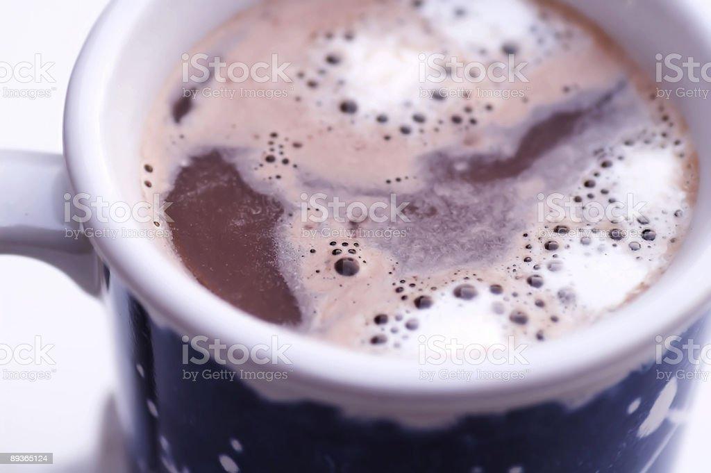 Cioccolata calda N boccale foto stock royalty-free