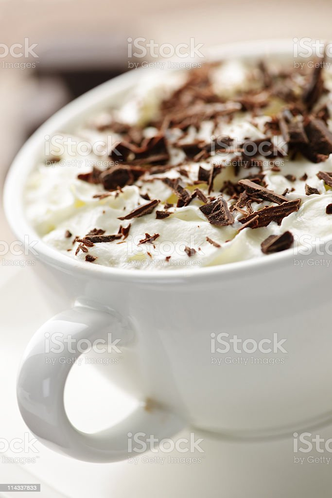 Hot chocolate royalty-free stock photo