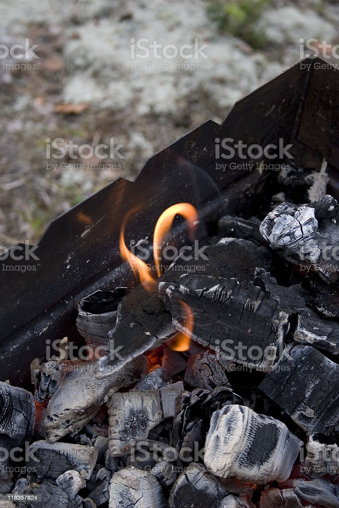 Heiße Kohlen – Foto