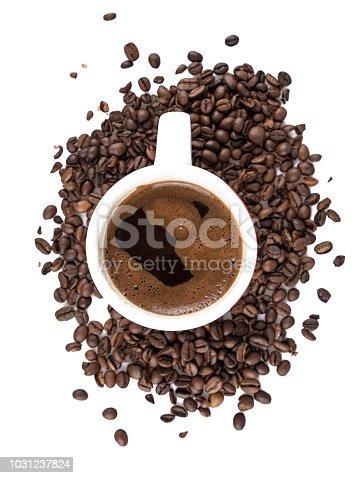 Coffee Cup, Coffee - Drink, Black Coffee, Breakfast, Drink