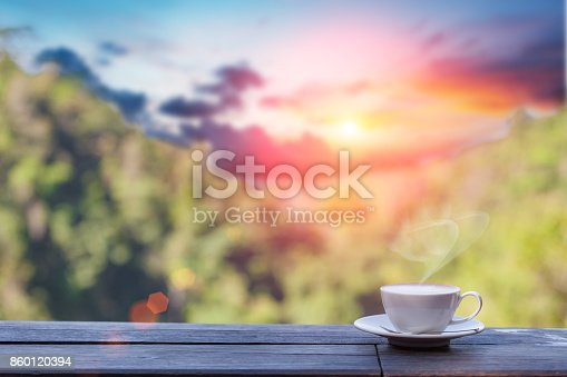 1135319558 istock photo Hot Coffee cup 860120394
