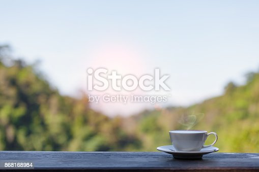 1135319558 istock photo Hot Coffee cup 868168984