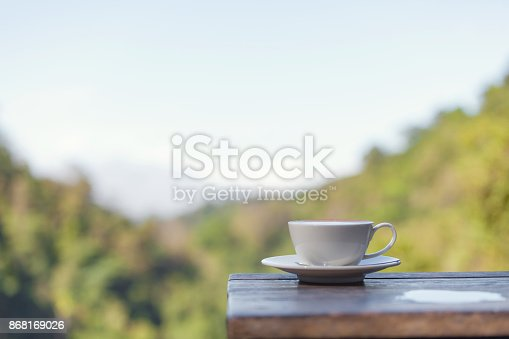 1135319558 istock photo Hot Coffee cup 868169026