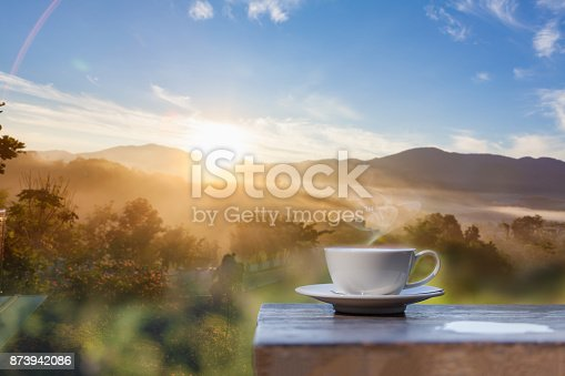 1135319558 istock photo Hot Coffee cup 873942086