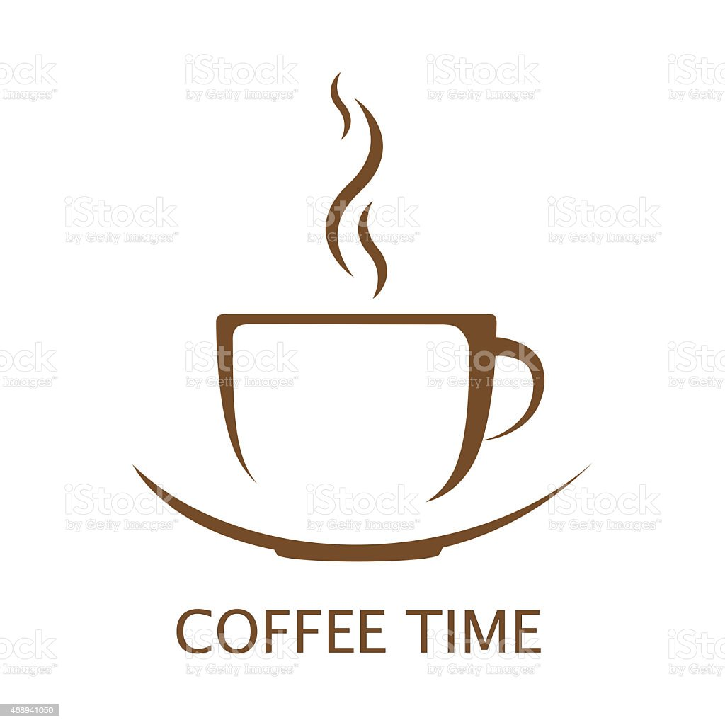 Coffee cup vector free - Hot Coffee Cup Vector Royalty Free Stock Photo