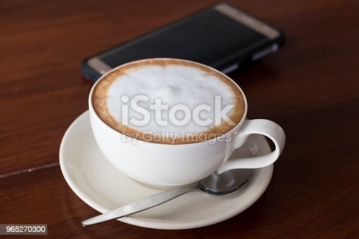 Hot Coffee In Ceramic Glass - zdjęcia stockowe i więcej obrazów Bez ludzi