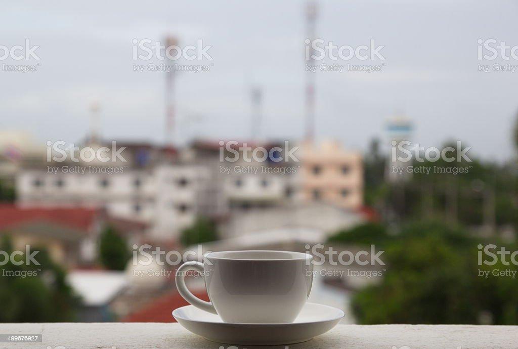 Hot Coffee Morning royalty-free stock photo