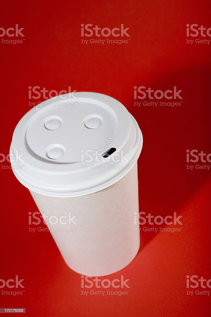 Hot coffee! royalty-free stock photo