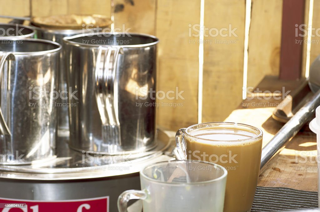 hot coffee royalty-free stock photo