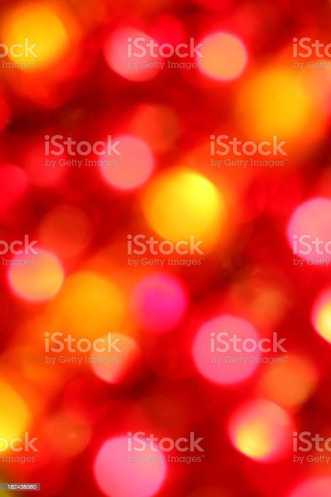 Hot Colored Lights Background royalty-free stock photo
