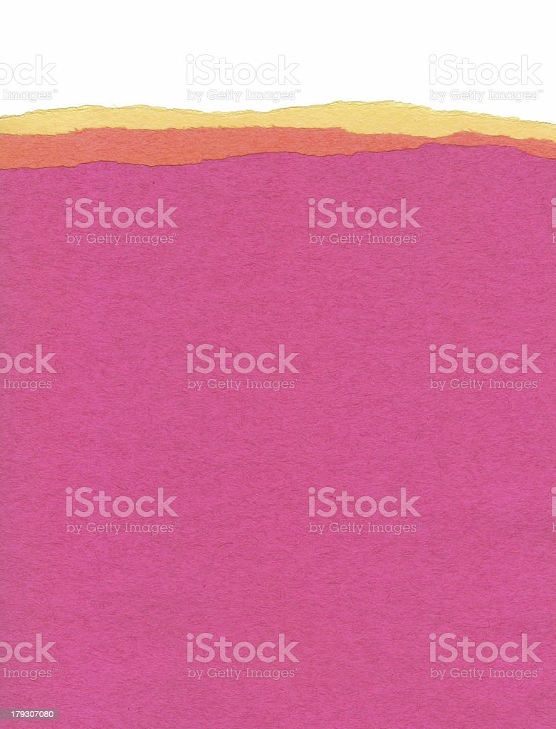 Hot Coloured Paper royalty-free stock photo