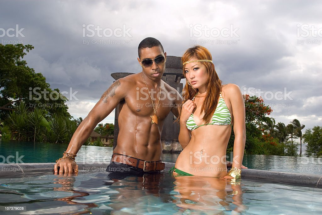 Hot Couple. royalty-free stock photo