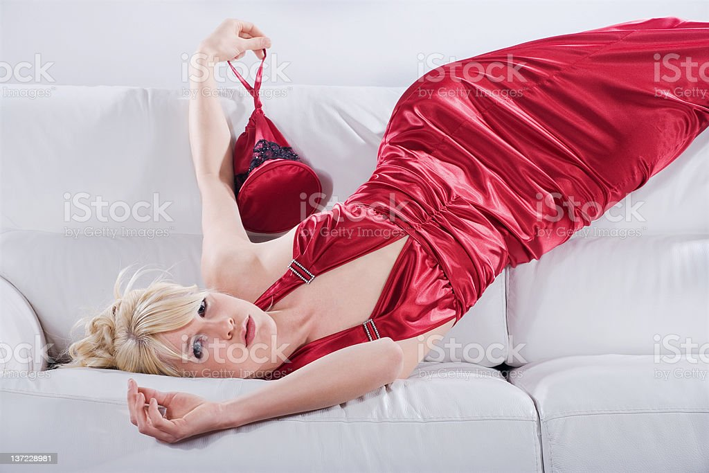 Hot couture stock photo