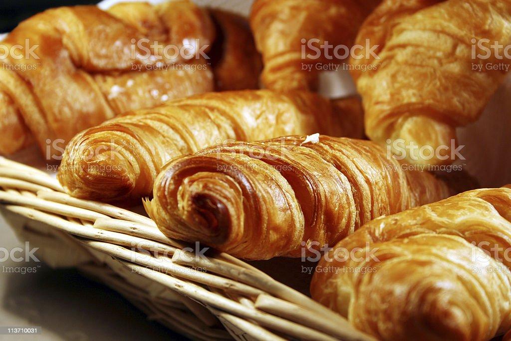 hot croissant royalty-free stock photo