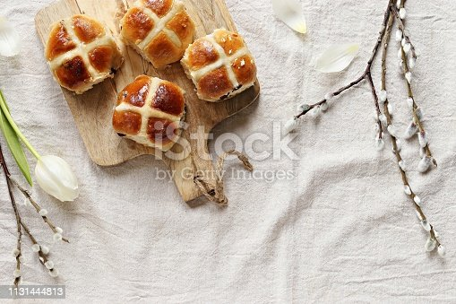 1131445181 istock photo Hot Cross Buns 1131444813