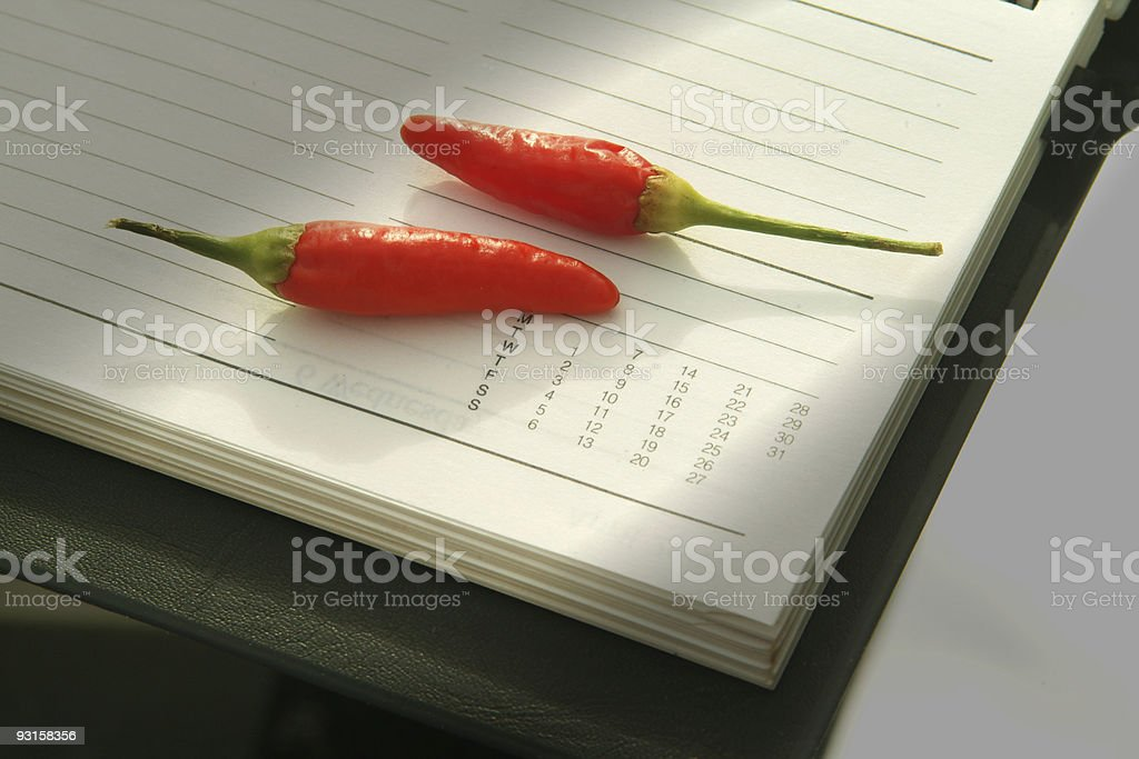 Hot Date royalty-free stock photo