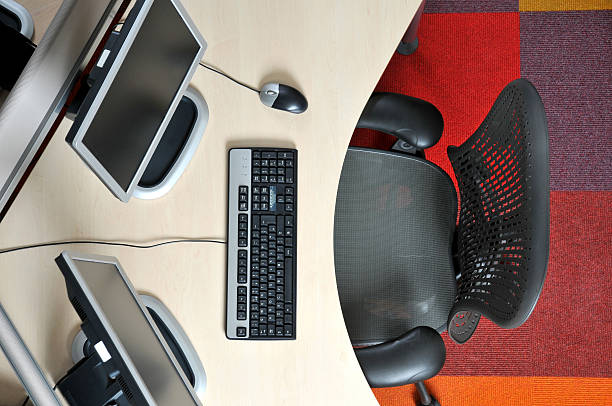 hot desk - 虛擬辦公室 個照片及圖片檔
