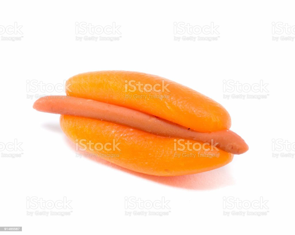 Hot Dog royalty-free stock photo