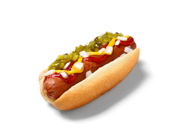 hot dog, smokie - hot dog stock pictures, royalty-free photos & images