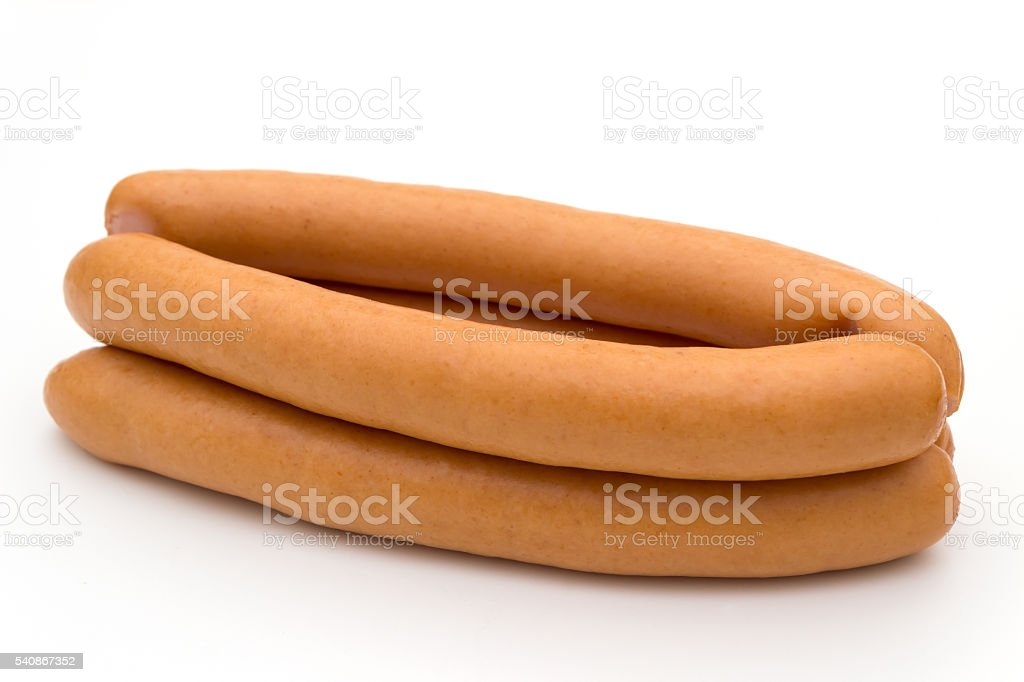 hot dogs isolated – Foto