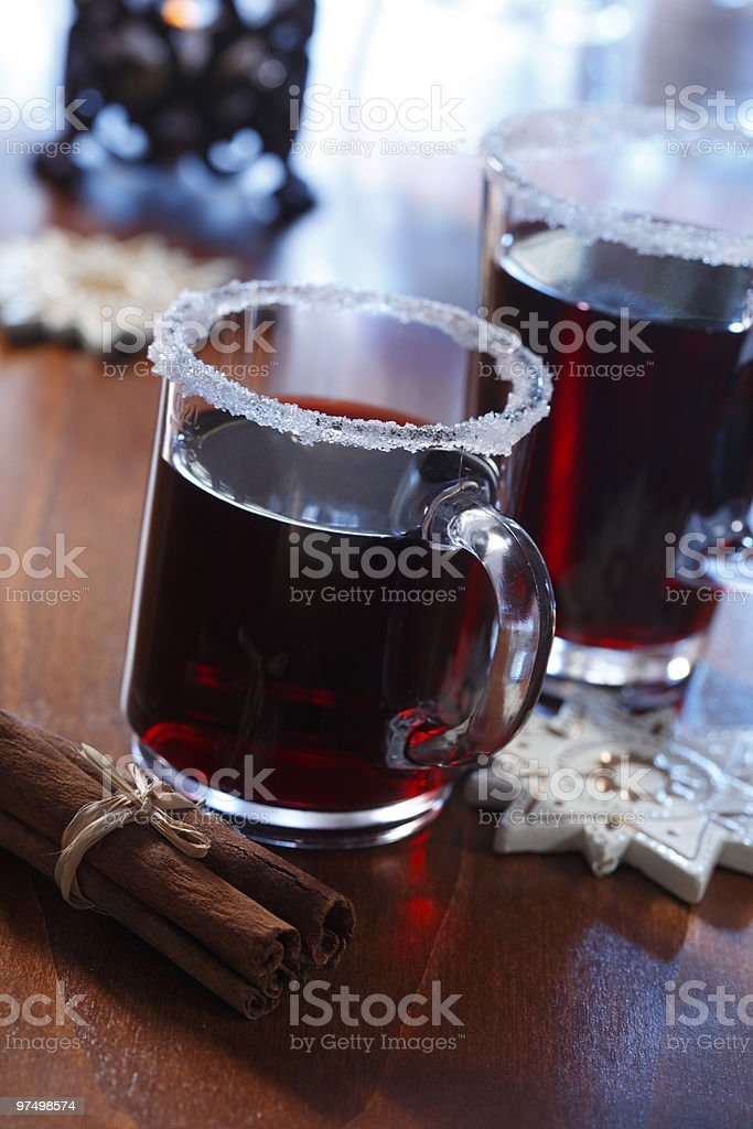 Hot drink royalty-free stock photo