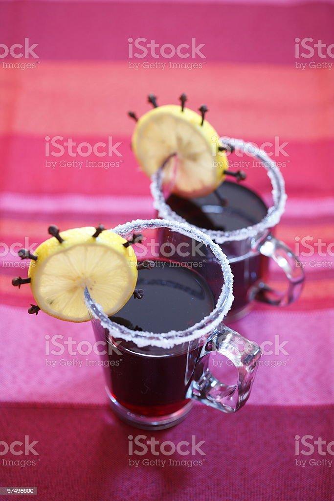 Hot drinks royalty-free stock photo
