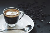 Have a cup of espresso shot