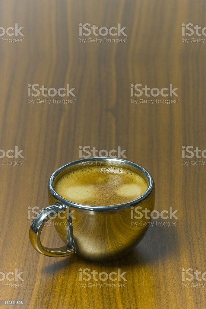 Hot Espresso royalty-free stock photo