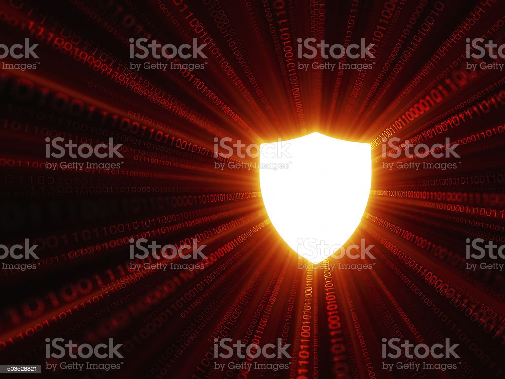 Hot FireWall royalty-free stock photo