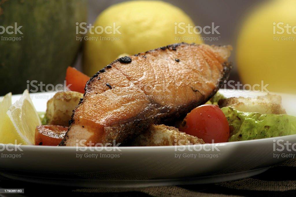 hot fish dish 1 royalty-free stock photo